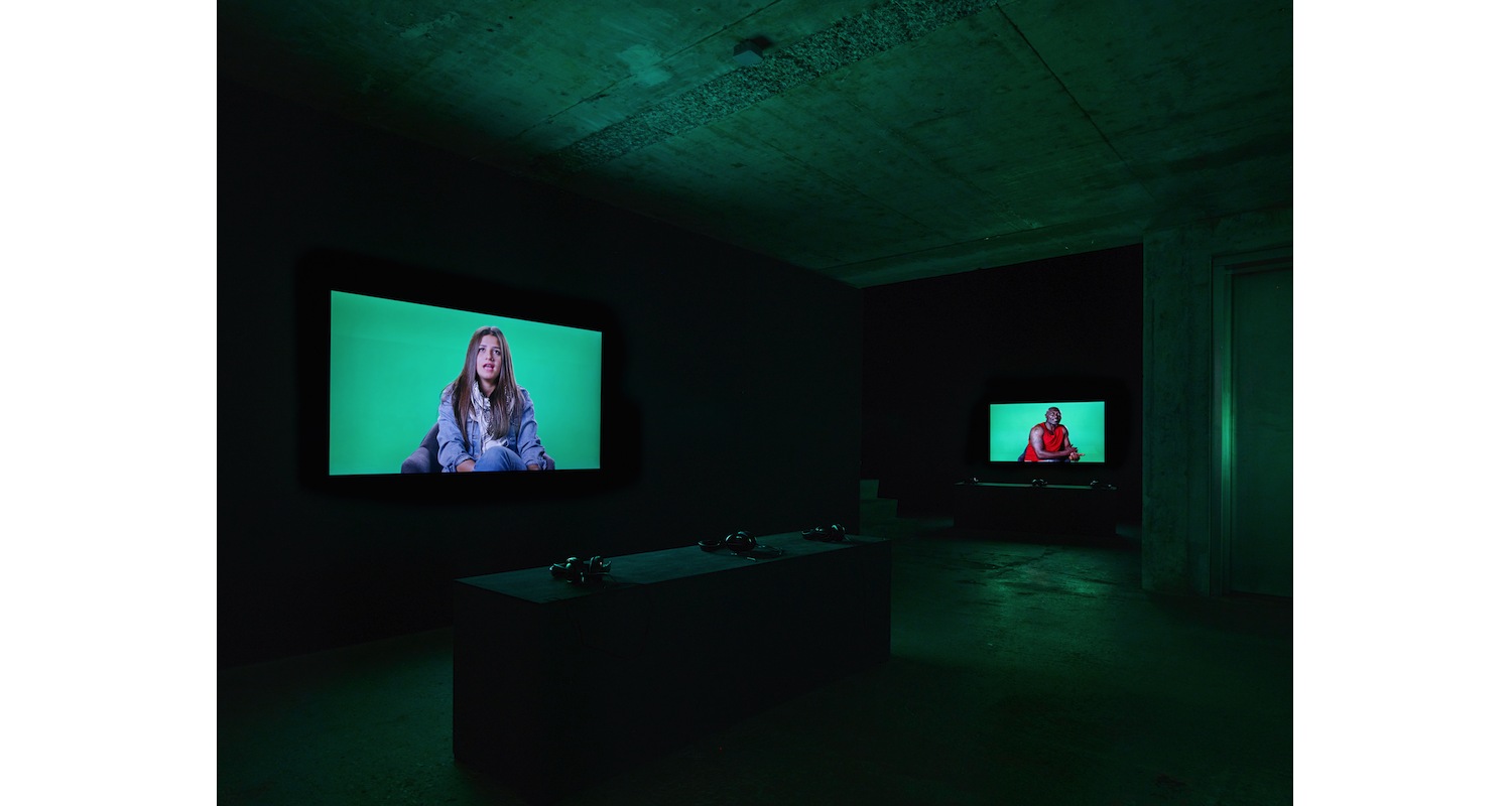 Candice Breitz, Love Story, Installation  view, 2016. Image: Courtesy of Candice Breitz and KOW, Berlin.