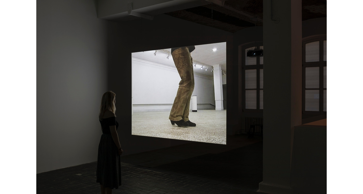 """Hiwa K, """"Moon Calendar"""", Iraq, 2007, Single-channel SD Video, Installation view, KW Institute for Contemporary Art, 2017, Image: Frank Sperling"""