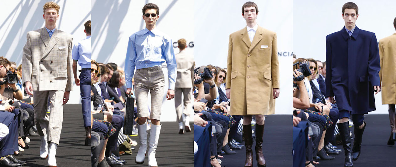 Balenciaga's Menswear Show