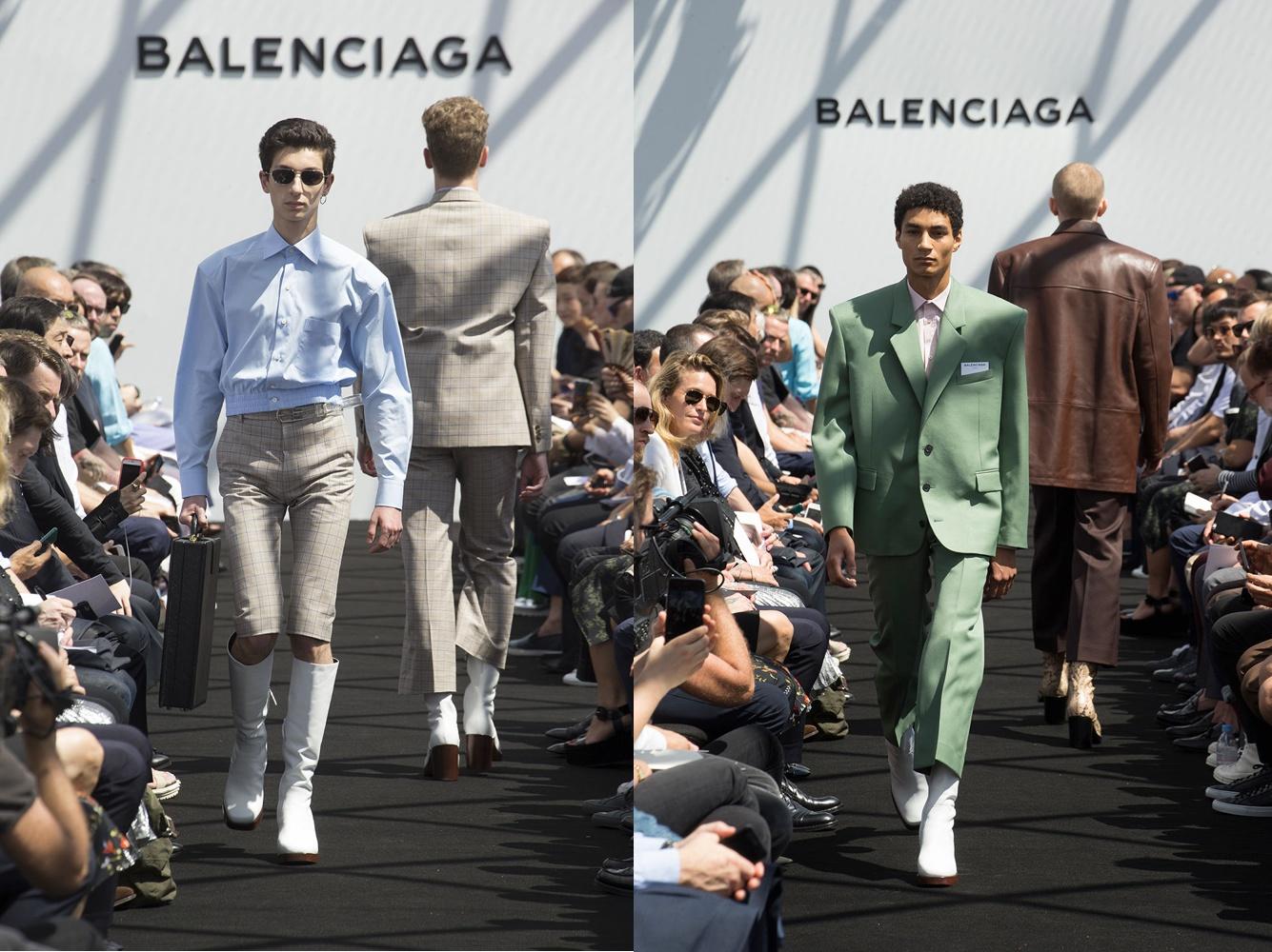 e685e46ec5562 Demna Gvasalia for Balenciaga Balenciaga Men s RTW SS17