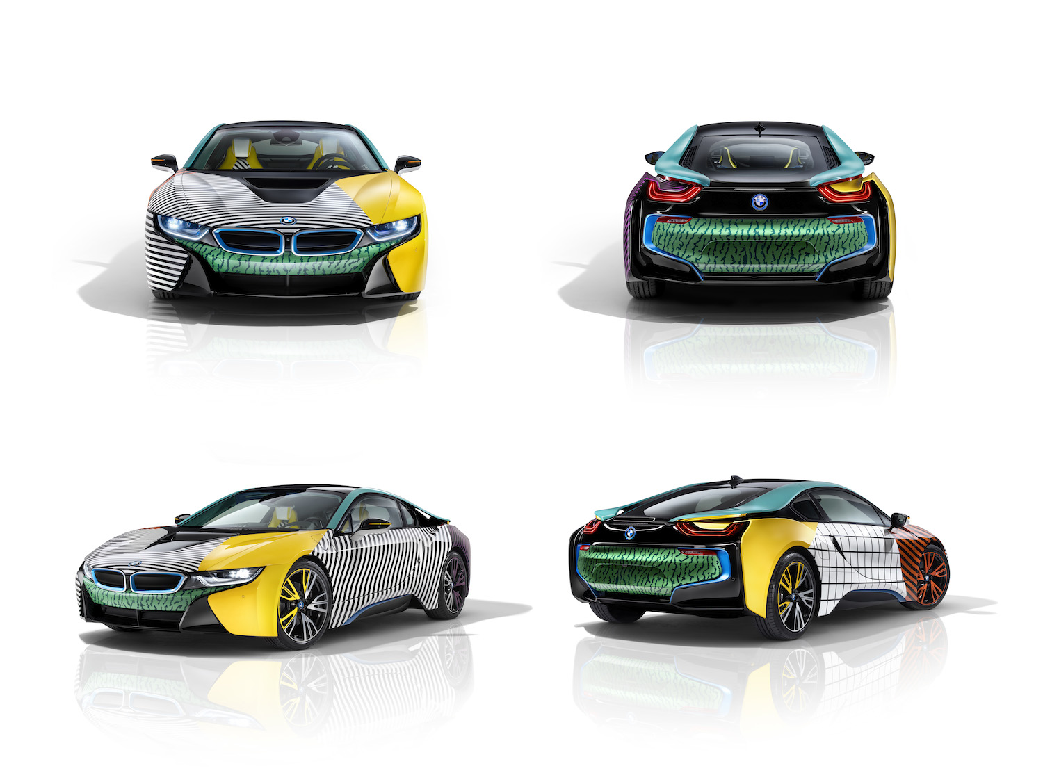 BMW Puts a New Spin On the Memphis Group's Inimitable Design