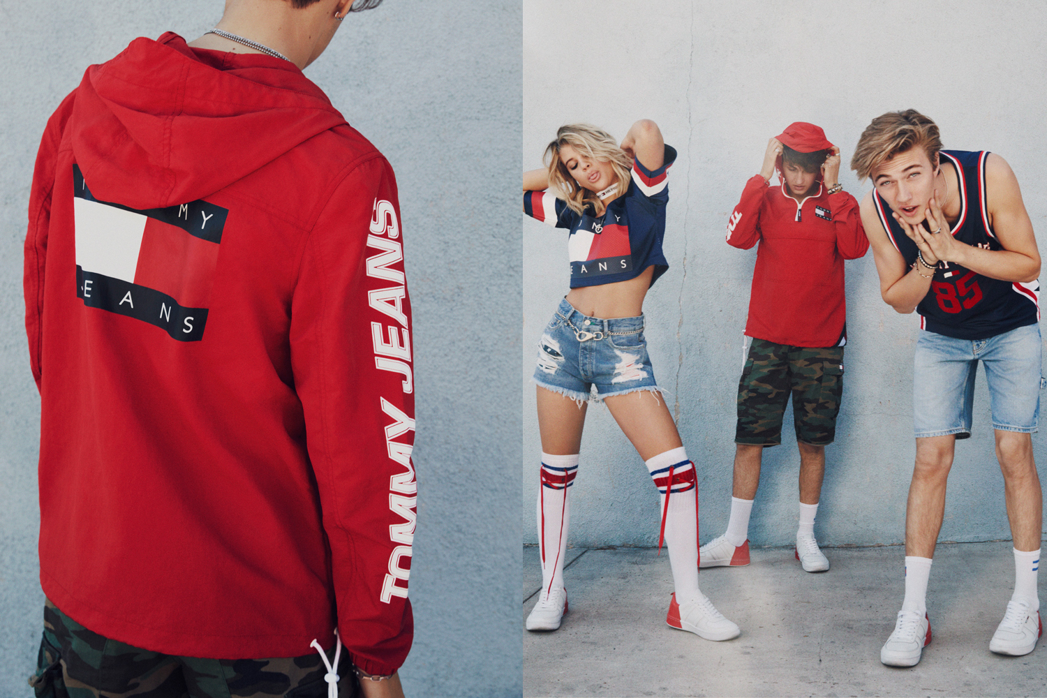 Tommy Hilfiger Revisits the Nineties for Tommy Jeans SS17