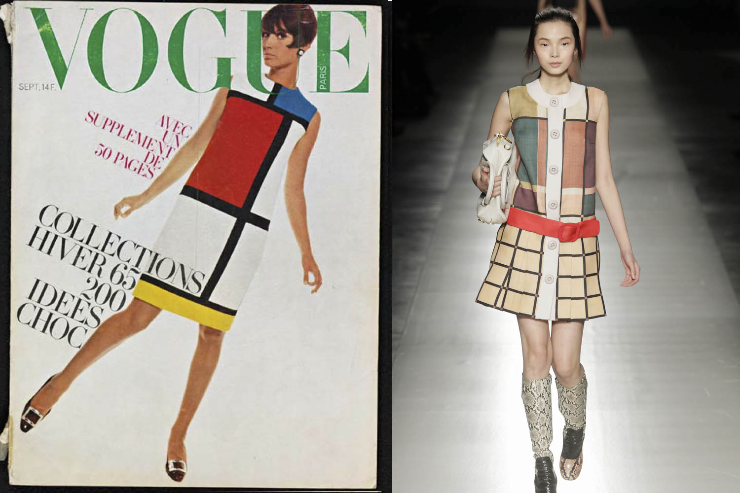 How Mondrian Has Been Influencing Pop Culture For 100 Years Sleek Magazine