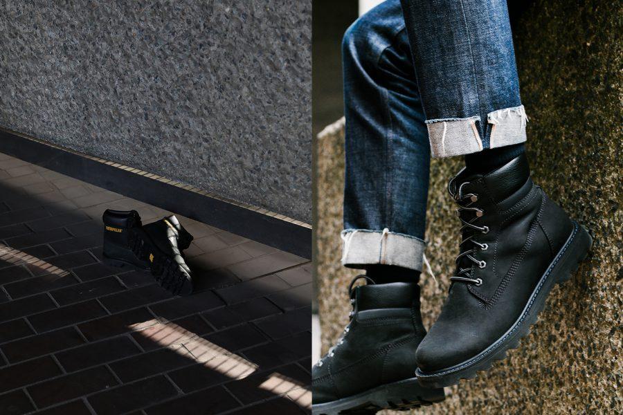caterpillar earthmover boots