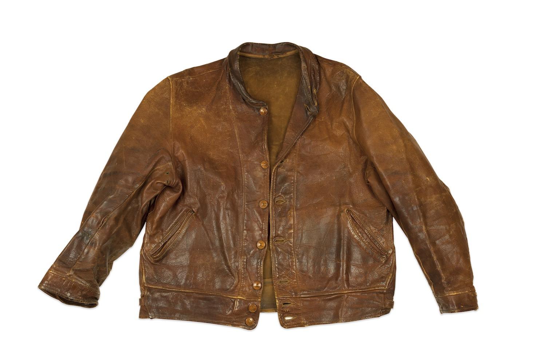 007b6c999 Levi's Vintage Clothing Reproduce Albert Einstein's Leather Jacket ...