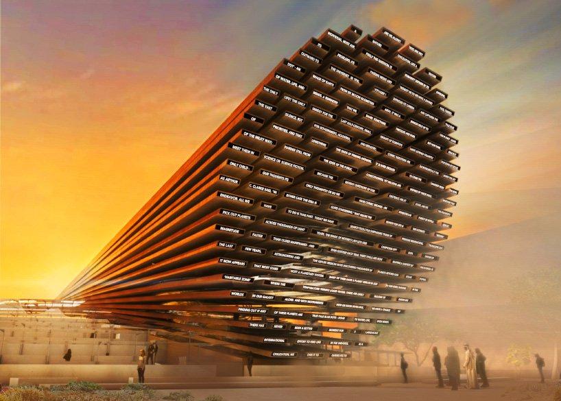 Best Poetry 2020 Es Devlin to design poetry pavilion for Expo 2020 | Sleek Magazine