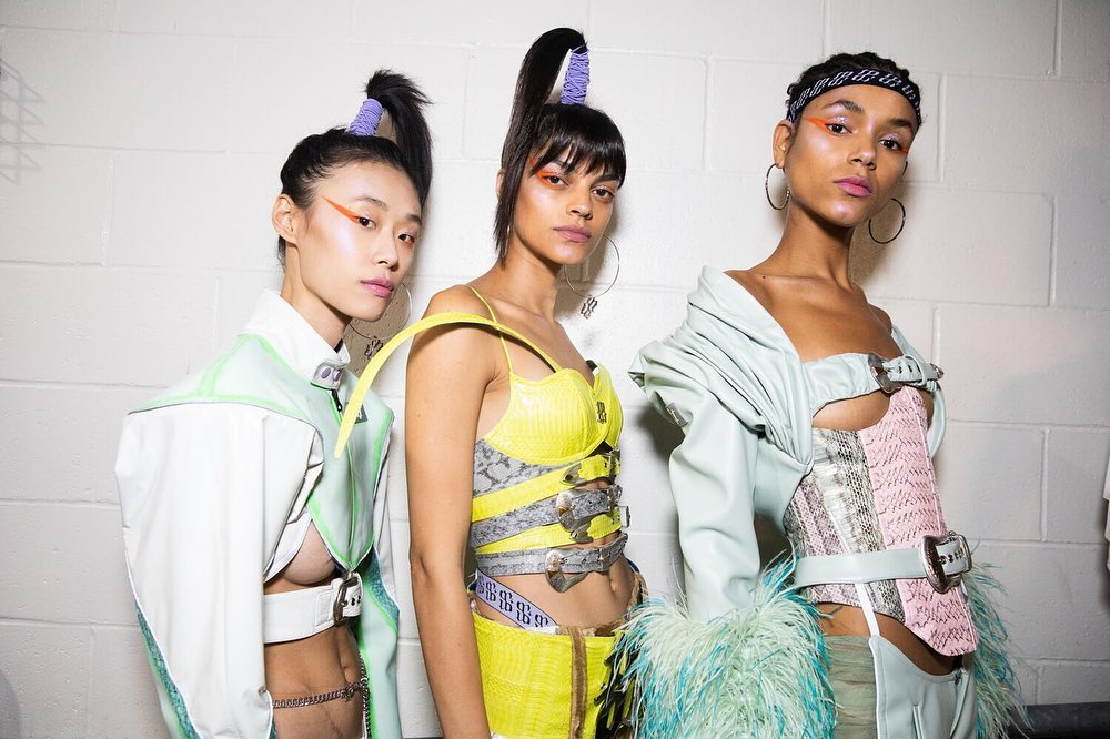 Introducing Di Du The Chinese Designer Serving Sassy 90s Inspired Pastel Looks Sleek Magazine