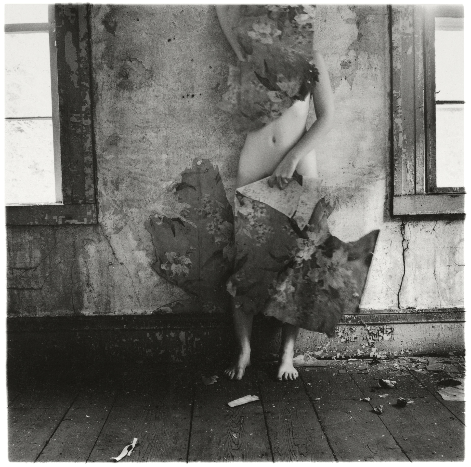 Francesca Woodman, Space2, Providence, Rhode Island, 1977, © George and Betty Woodman
